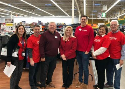 Christmas for Kids 2019 at Walmart with JEF Board Members
