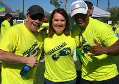JEF Challenge Run with Melinda and Ty Foster