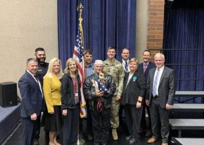 Veterans Day 2019 at South Jordan Middle School